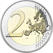 Finland 2 Euro 200 Years of Finland National Bank 2011 Proof KM# 163 2 EURO LL coin reverse