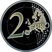 Slovenia 2 Euro 500th Anniversary of Primoz Trubar 2008 KM# 80 2 EURO LL coin reverse
