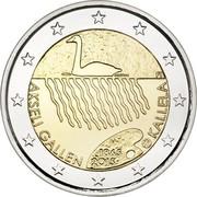 Finland 2 Euro Akseli Gallen-Kallela 2015 Proof KM# 230 FI AKSELI GALLEN 1865 2015 KALLELA coin obverse