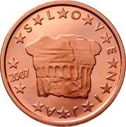 Slovenia 2 Euro Cent The Prince's Stone 2008 KM# 69 SLOVENIJA coin obverse