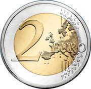 Slovenia 2 Euro Centenary of the foundation of the University of Ljubljana 2019 2 EURO coin reverse