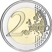 Slovenia 2 Euro Emona-Ljubljana 2015  2 EURO LL coin reverse