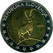 Slovenia 2 Euro (ESSAI) X# Pn8 REPUBLIKA SLOVENIJA coin obverse