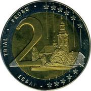 Slovenia 2 Euro (ESSAI) X# Pn8 TRIAL PROBE 2 ESSAI coin reverse