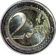 Slovenia 2 Euro Franc Rozman 2011 KM# 100 2 EURO LL coin reverse
