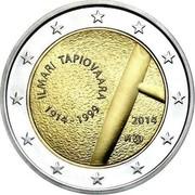 Finland 2 Euro Ilmari Tapiovaara 2014 Proof KM# 212 ILMARI TAPIOVAARA 1914 - 1999 FI 2014 coin obverse