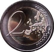 Slovenia 2 Euro Postojna Cave 2013 KM# 112 2 EURO LL coin reverse