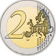 Finland 2 Euro Treaty of Rome 2007 Proof KM# 138 2 EURO LL coin reverse