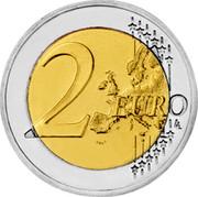 Slovenia 2 Euro Treaty of Rome 2007 KM# 106 2 EURO LL coin reverse