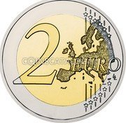Slovenia 2 Euro World Bee Day 2018 750 Proof sets / 2000 Proof capsule 2 EURO LL coin reverse