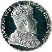 Australia 2 Florin Edward VII 1901 EDVARDS VII D: G: BRITT : OWN : REX F : D : IND : IMP. coin obverse
