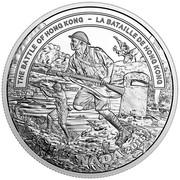 Canada 20 Dollars The Battle of Hong Kong 2016 Proof THE BATTLE OF HONG KONG - LA BATAILLE DE HONG KONG coin reverse