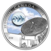 Canada 20 Dollars The Universe 2016 Proof 20 DOLLARS CANADA 2016 coin reverse
