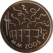 Finland 20 Euro Athletics World Championships in Helsinki 2005 M-M Proof KM# 121 MM 2005 M coin obverse
