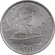 Finland 20 Euro Baltic Sea 2011 K KM# 169 K 2011 coin reverse