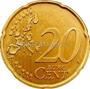 Finland 20 Euro Cent 2002 M Proof KM# 102 Euro Coinage coin reverse