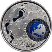 Finland 20 Euro Children's creativity 2010 M KM# 153 2010 coin reverse