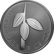 Finland 20 Euro Karl Fazer 2016 Proof KM# 231 SUOMI FINLAND 20€ 2016 coin reverse