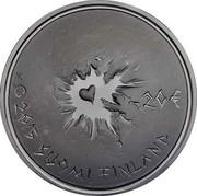 Finland 20 Euro Sisu Finnish virtue - Perseverance 2015 Proof KM# 227 20 € 2015 SUOMI FINLAND coin obverse