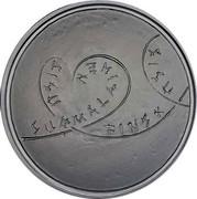 Finland 20 Euro Sisu Finnish virtue - Perseverance 2015 Proof KM# 227 SUOMALAINEN SISU FINSK SISU coin reverse