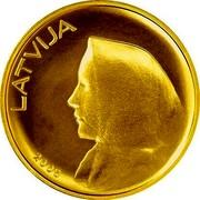 Latvia 20 Latu Coin of Latvia 2008 KM# 96 LATVIJA 2008 coin obverse