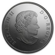 Canada 200 Dollars Canadian Vast Prairies 2016 ELIZABETH II D ∙ G ∙ REGINA coin obverse