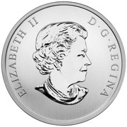 2015 Haunted Canada 25-Cent Coin The Brakeman