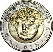 Finland 25 Markkaa 2001 M Prooflike KM# 96 Reform Coinage coin obverse