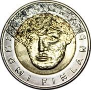 Finland 25 Markkaa Nordic Ski Championship 2001 M Prooflike KM# 96 25 MK SUOMI FINLAND coin obverse
