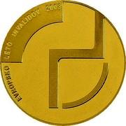 Slovenia 25000 Tolarjev Year of Disabled People 2003 Proof KM# 54 EVROPSKO LETO INVALIDOV 2003 coin reverse
