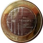 Slovenia 3 Euro (Red Cross) 150 LET RDEČEGA KRIŽA NA SLOVENSKEM coin reverse