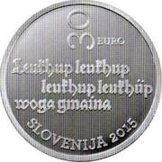 Slovenia 30 Euro Stara Prauda 2015 Proof 30 EURO LEUKHUP, LEUKHUP, LEUKHUP, LEUKHÜP WOGA GMAINA SLOVENIJA 2015 coin obverse