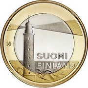Finland 5 Euro Aland 2013 Proof KM# 200 N SUOMI FINLAND coin obverse