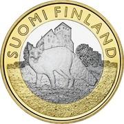 Finland 5 Euro Finland Proper 2014 Proof KM# 210 SUOMI FINLAND coin obverse