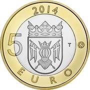 Finland 5 Euro Finland Proper 2014 Proof KM# 210 2014 5 EURO T coin reverse