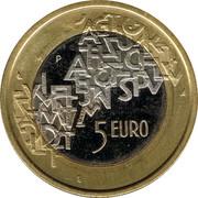 Finland 5 Euro Finnish Presidency of the European Council 2006 M P-M KM# 131 M P 5 EURO coin reverse