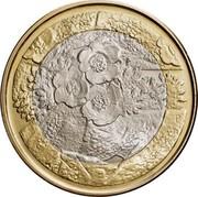 Finland 5 Euro Flora 2012 P Proof KM# 184 P coin reverse