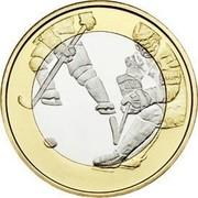 Finland 5 Euro Ice Hockey 2016 Proof KM# 243  coin reverse
