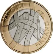 Finland 5 Euro Karelia 2011 T Proof KM# 159 SUOMI FINLAND coin obverse
