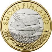 Finland 5 Euro Karelia 2014 Proof KM# 207 SUOMI FINLAND coin obverse