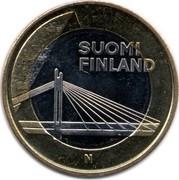 Finland 5 Euro Lapland 2012 T KM# 192 SUOMI FINLAND N coin obverse