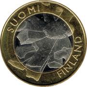 Finland 5 Euro Ostrobothnia 2011 T KM# 171 SUOMI FINLAND coin obverse