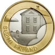 Finland 5 Euro Ostrobothnia 2013 Proof KM# 205 N SUOMI FINLAND coin obverse