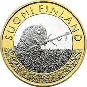 Finland 5 Euro Satakunta 2015 Proof KM# 240 SUOMI FINLAND coin obverse