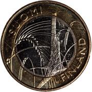 Finland 5 Euro Savonia 2011 T KM# 162 SUOMI FINLAND coin obverse