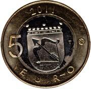 Finland 5 Euro Savonia 2011 T KM# 162 2011 5 EURO T coin reverse