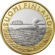 Finland 5 Euro Savonia 2014 Proof KM# 208 SUOMI FINLAND coin obverse