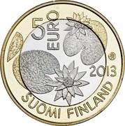 Finland 5 Euro Summer 2013 Proof KM# 196 5 EURO 2013 SOUMI FINLAND coin obverse