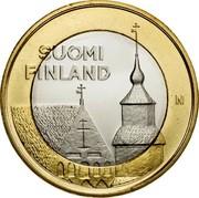 Finland 5 Euro Tavastia 2013 KM# 197 SUOMI FINLAND N coin obverse