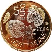 Finland 5 Euro Wilderness 2014 KM# 211 5 EURO 2014 SUOMI FINLAND coin obverse